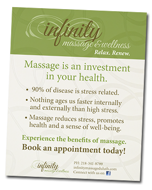 Infinity Benefits of Massage